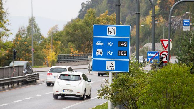Kraftig hopp i bomavgiftene for elbiler i Oslo