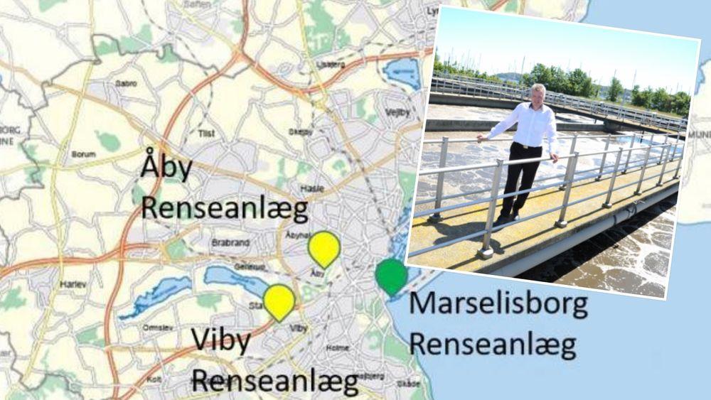 Marselisborg renseanlæg i Aarhus er blitt et kraftverk