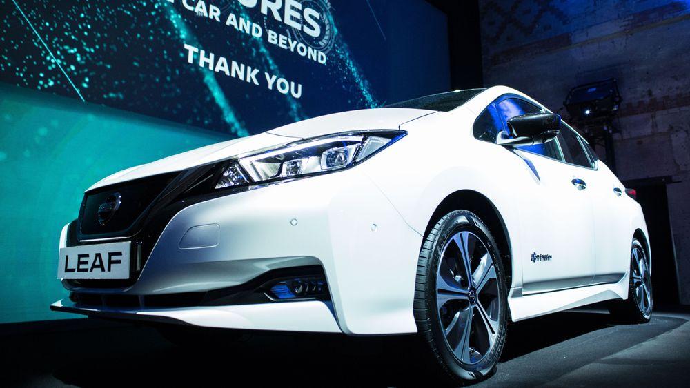Nesten hver tredje solgte nybil ifjor var en nullutslippsbil. Nissan Leaf bidro godt til det.