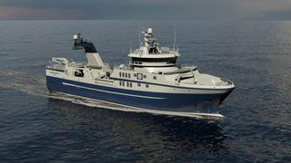 Ny fisketråler skal slippe å dra innom land midt i turnusen