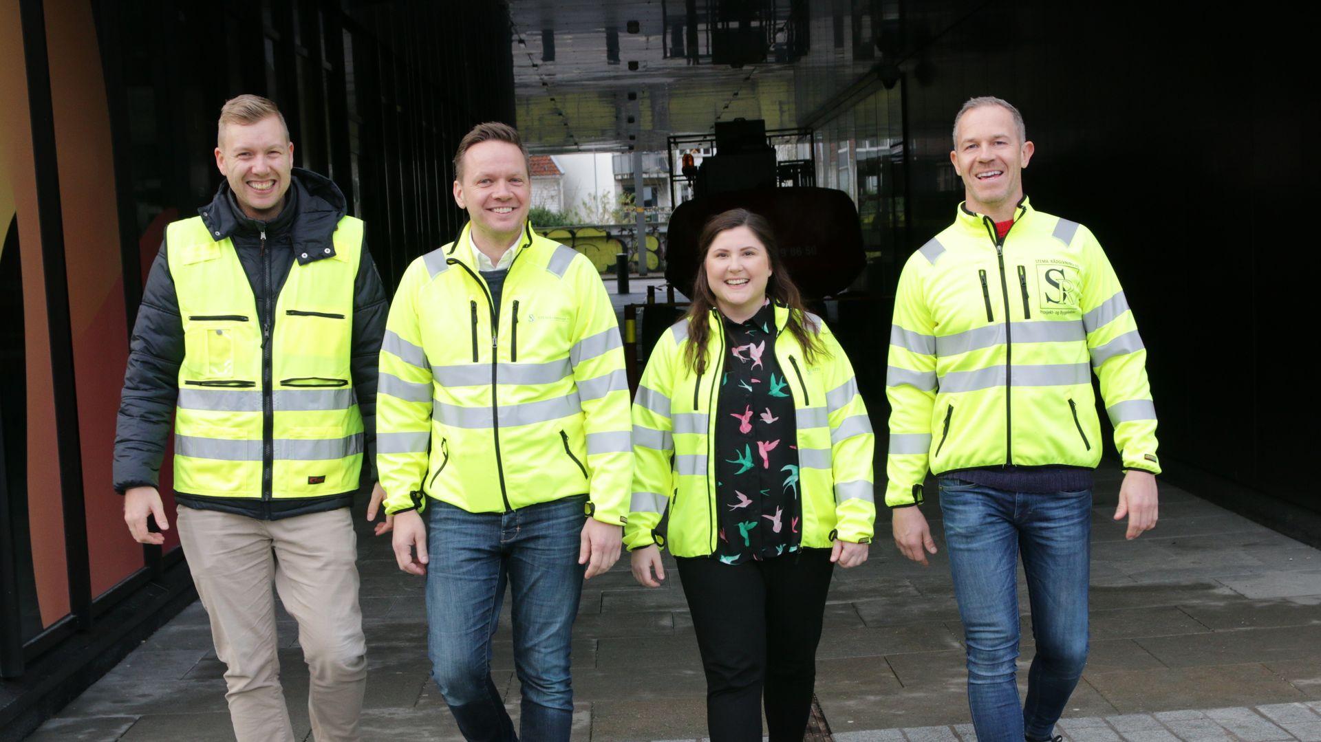 ANNONSE: Dette er teamet som skal gjøre byggebransjen tryggere