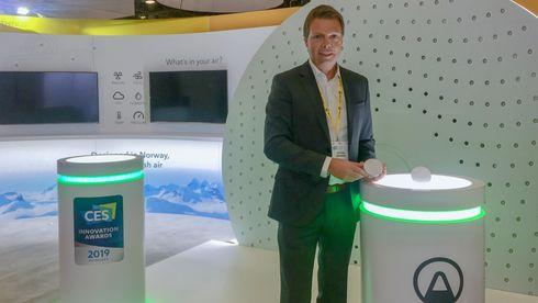 CES: Norske Airthings lanserer ny sensor for innemiljøet