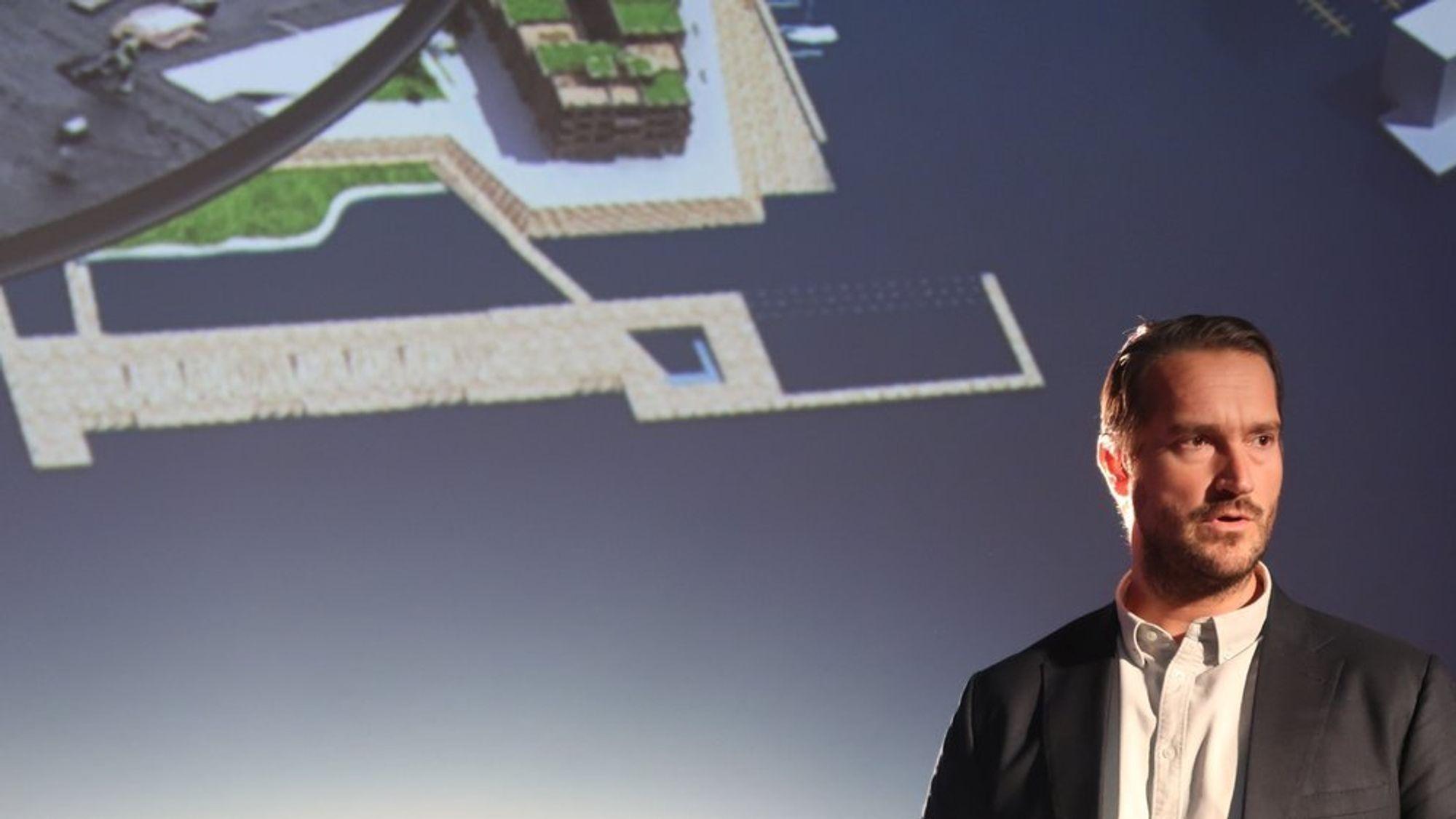 Prosjektdirektør Lars Petter Fritzsønn i AF-gruppen sier de er opptatt av å ta en posisjon på bruk av teknologi i sitt arbeid.