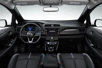 Nissan LEAF e+ interiør.