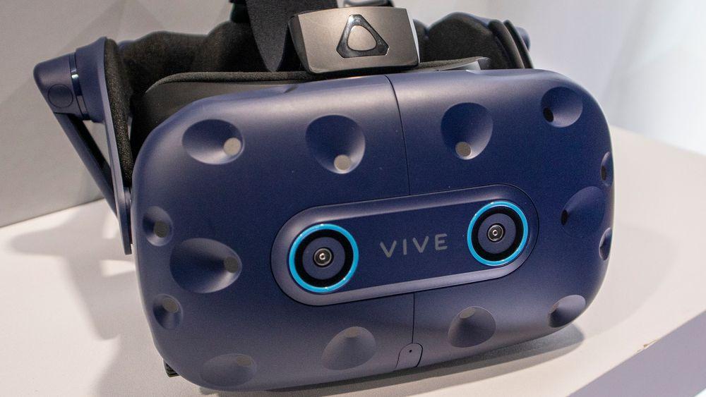 Følger blikket: Den nye utgaven av Vive Pro har sensorer i masken som følger blikket. Det gir mange fordeler som at regnekraften kan konsentreres dit man ser.