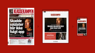 Klassekampen får anerkjennelse for digitalavis