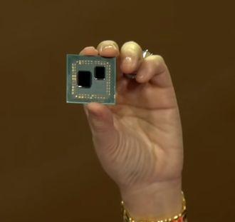 AMD-sjef Lisa Su viste fram en tidlig utgave av selskapets tredje generasjons Ryzenprosessorer under CES 2019.