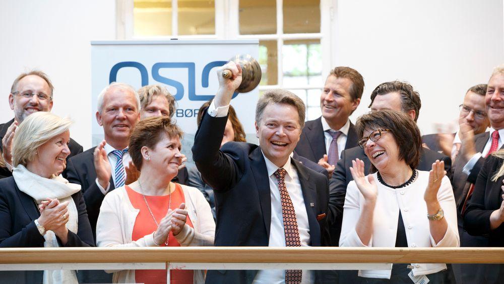 Konsernsjef Christian Nørgaard Madsen ringte Multiconsult ASA inn på Oslo Børs i mai 2015. Nå går han av som toppsjef i selskapet.