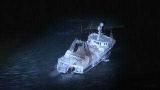 Northguider ligger på grunn i Hinlopenstredet. Bergingen planlegges av Ardent Global på vegne av rederiet Opilio.