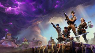 Forsidebildet til spillet Fortnite.