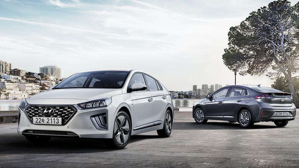 Hyundai har frisket opp utsiden på bilen.