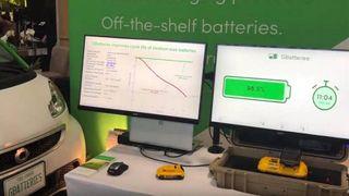 GBatteries system for hurtiglading av batterier