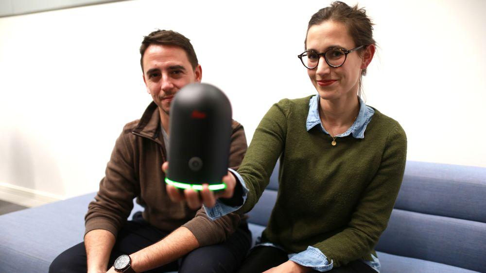 Portugisiske Frederico Valente og tyske Sarah Müller startet Imerso sammen med den norske kybernetikeren Simen Andresen (eget bilde lenger ned i artikkelen).