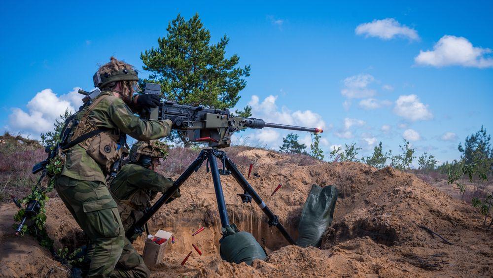 Brigade Nords 2. bataljon på øvelse Saber Strike 16 i Latvia