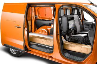 Med fleksibelt passasjersetet kan du få skikk på bjelkelaget uten å leie lastebil.
