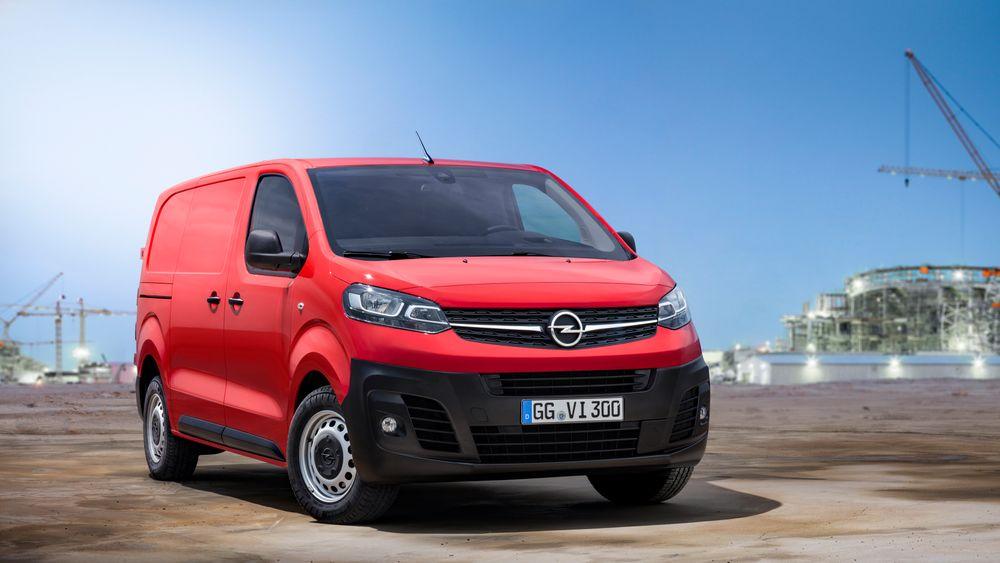 Nye Opel Vivaro kommer som elbil neste år.