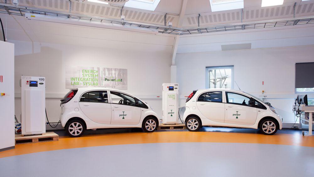 Demonstrasjonsprosjektet Parker har vist at elbiler kan bidra til å balansere strømnettet i Danmark. Mitsubishis MiEV og søstermodellen Peugeot iOn var blant bilene som ble testet i prosjektet.