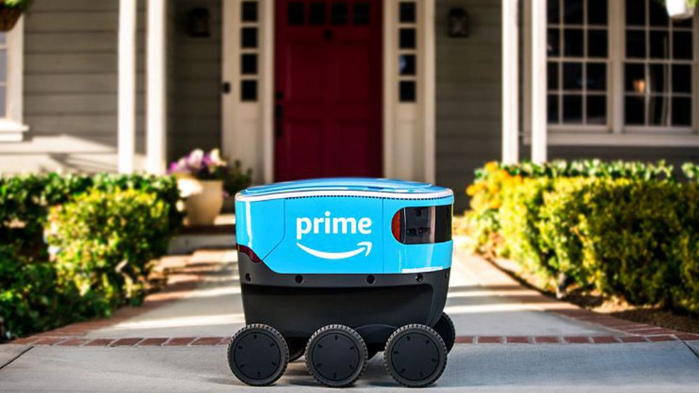 Amazon tester ny leveringsmetode med roboten Amazon Scout.