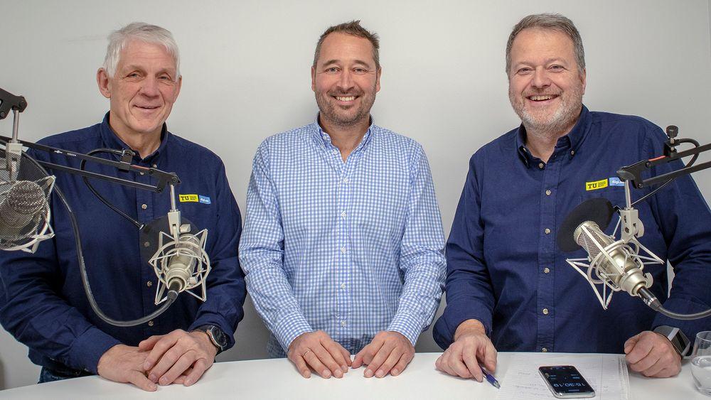 Odd Richard Valmot og Jan Moberg stiller med nerdeskjorter i dagens podcast. Gjest: Sivilingeniør Stig Alstedt i Hewlett Packard Enterprise.