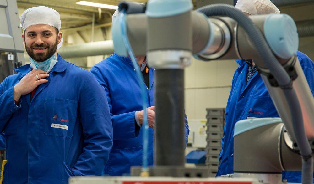 BRANDSTORY: Robot-temmeren er Norges industrihelt
