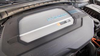 Brenselcelledrivlinjen i Hyundai Nexo.