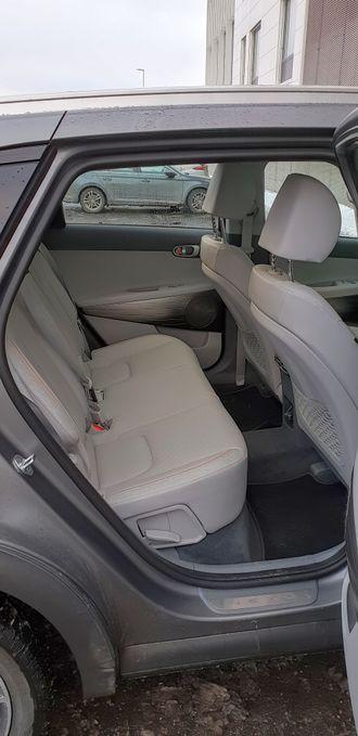 Baksetet i Hyundai Nexo.