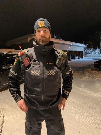 Innsatsleder og politiførstebetjent i Troms, Ragnar Schjølset.