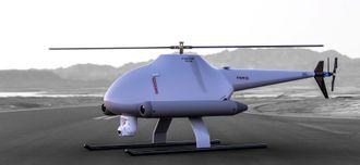 Snowvision jobber med en liten snøradar som kan bæres av droner med fossilt drivstoff som tåler streng kulde og mye vind.