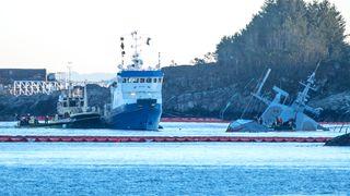 Havarikommisjonen ber Kripos om hjelp til å hente ut data fra KNM Helge Ingstad