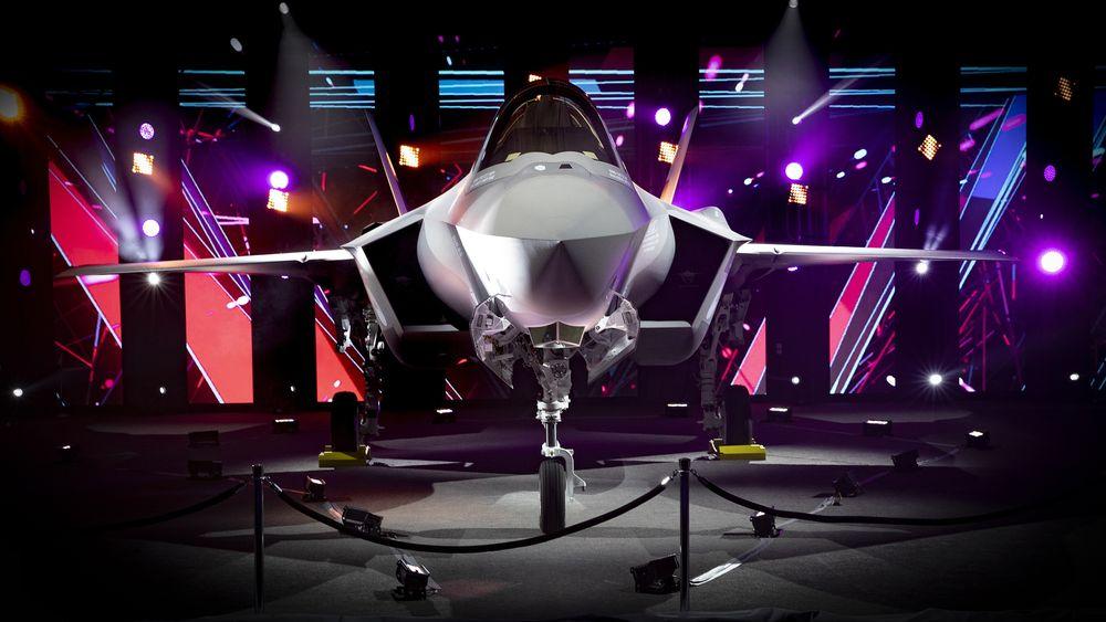 AN-3, Nederlands første operative F-35A, ble seremonielt rullet ut på Lockheed Martin-fabrikken i Fort Worth onsdag.