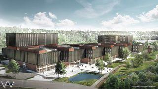 Norges største universitetsbygg blir også Statsbyggs største byggeprosjekt