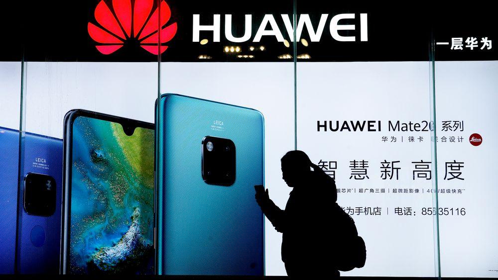 Kinesiske Huawei er den tredje største produsenten av smarttelefoner. På verdensbasis ble det solgt 1,4 milliarder smarttelefoner i fjor, 4,1 prosent færre enn året før.