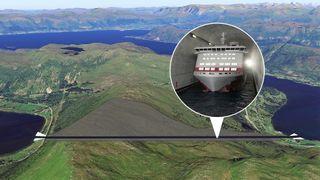 Forbereder skipstunnelen: Begynner boring av 1700 meters hull tvers gjennom Stadlandet