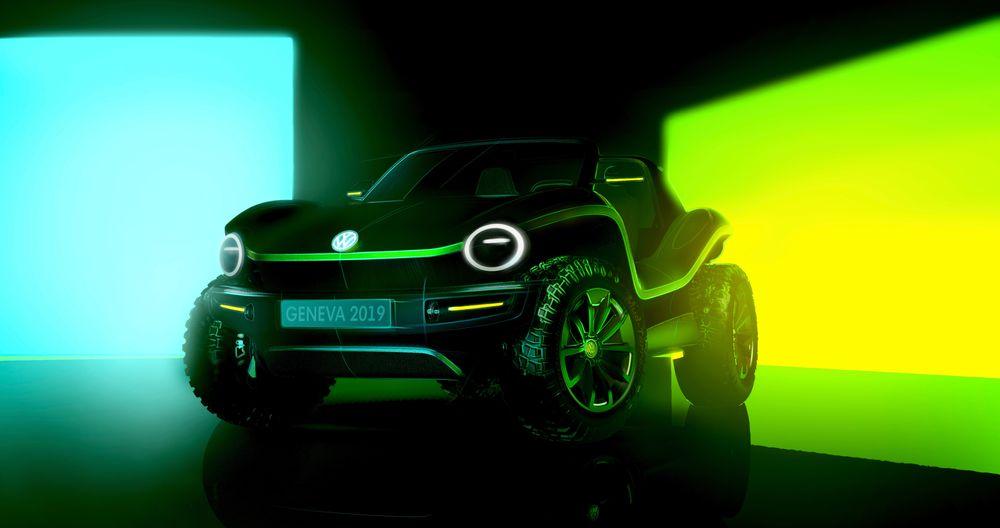 VW ID Buggy skal vises frem i Geneve.