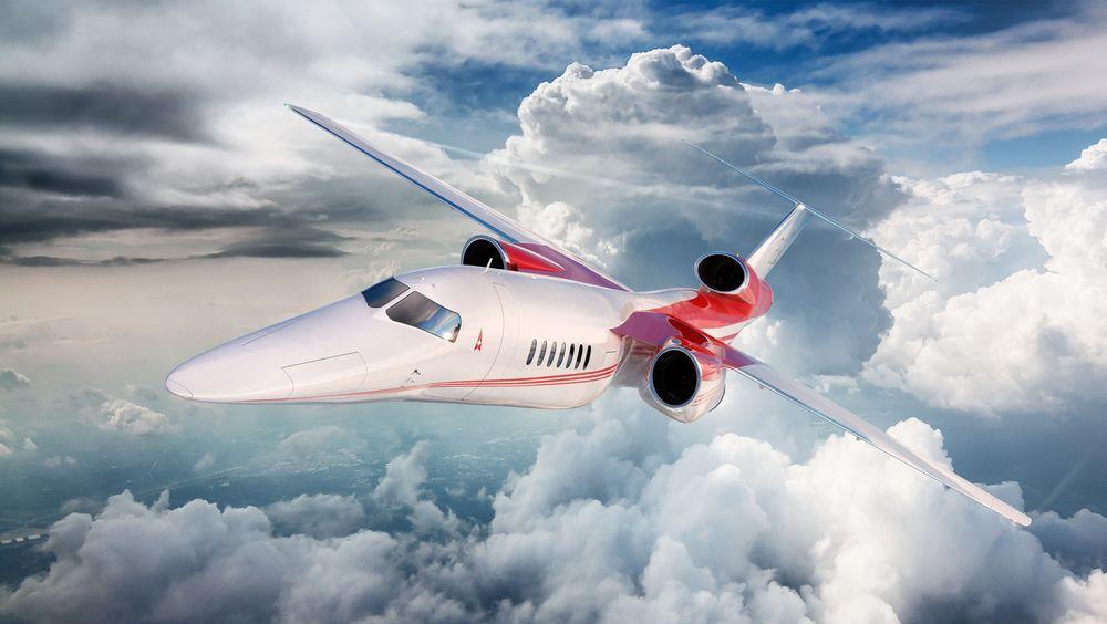 Aerion AS2 skal etter planen fly for første gang om fire år.