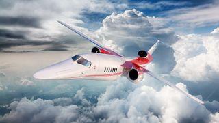 Boeing skal bygge verdens første supersoniske privatfly