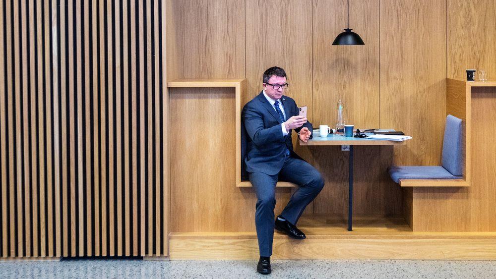 CEO Karl Johnny Hersvik kan registrere solide tall for Aker BP.