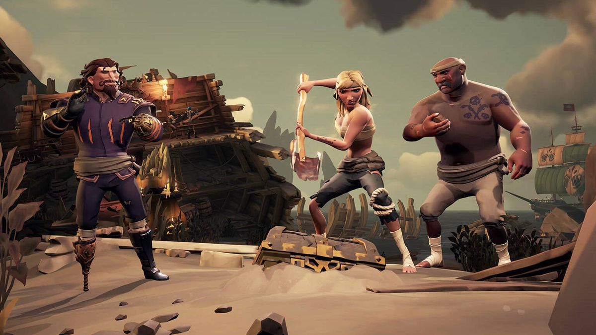 Now you can bring your friends to the Sea of Thieves