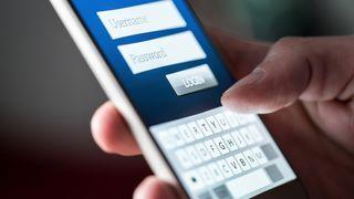Mobil og innlogging med passord.