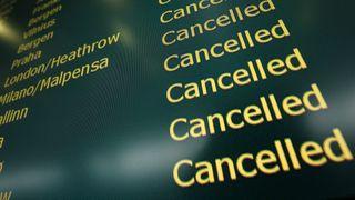 Systemfeil førte til full stans i flytrafikken over hele landet