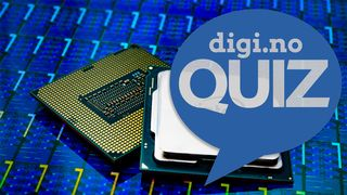 Intel-prosessor med digi.no-quiz-logo over.