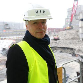 Ola Elvestuen besøkte i januar 2019 en fossilfri byggeplass i Oslo. Målet er at alle byggeplasser skal være fossilfri i 2025.