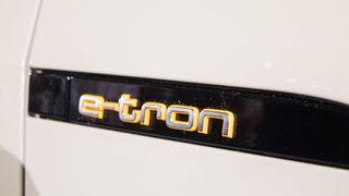 Audi E-Tron-logoen.