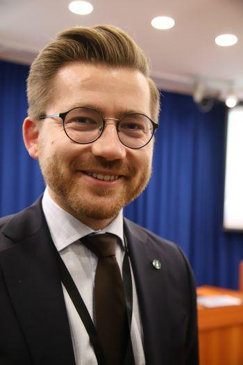 Statssekretær Sveinung Rotevatn (V), klima og miljødepartementet.