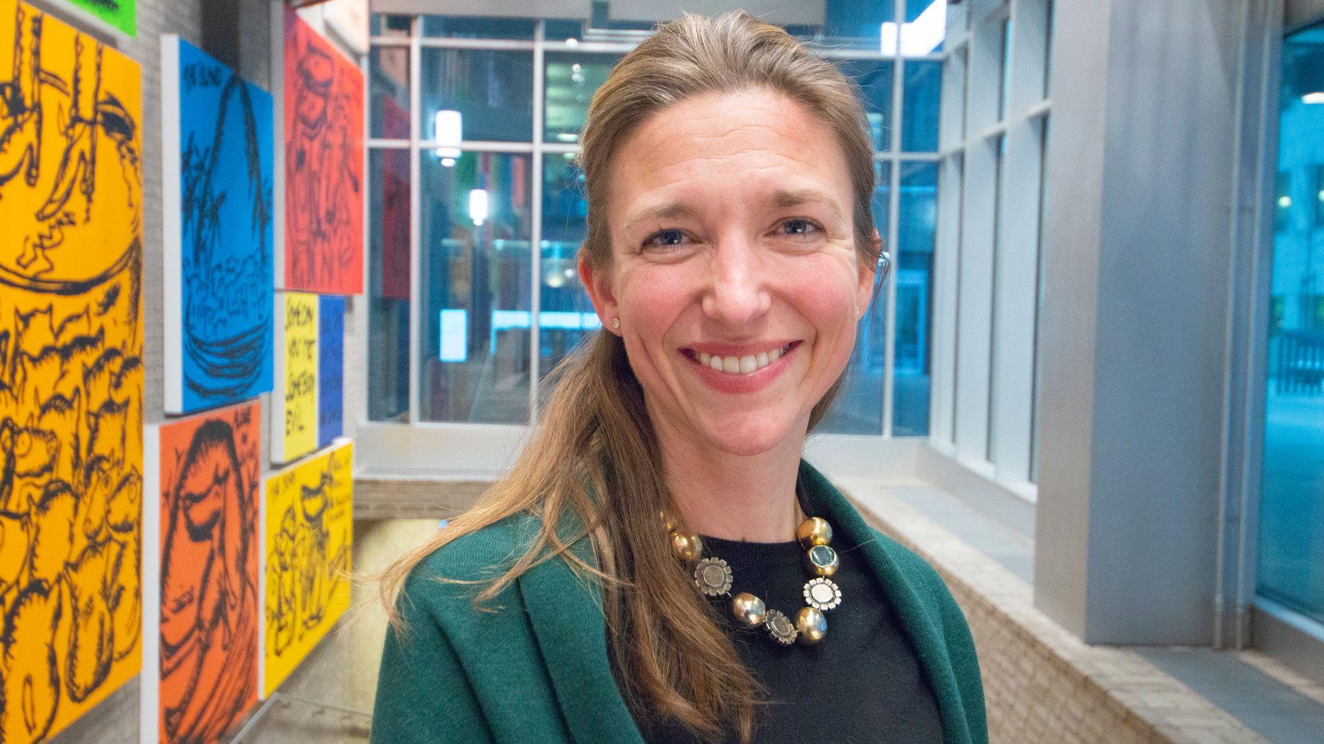Anne Margrethe Platou, rådgiver i samfunnsansvar og næringspolitikk i DNB.