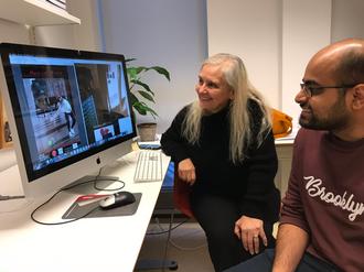 UiO-forskerne Alma Leore Culén og Sumit Pandey deltar i EU-prosjektet Creative Europe.