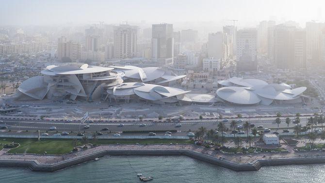 Ny arkitektur 2019 Qatar national museum