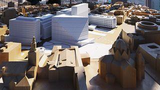 Krympes med 7000 kvadratmeter: Nå starter forprosjektet for det nye regjeringskvartalet