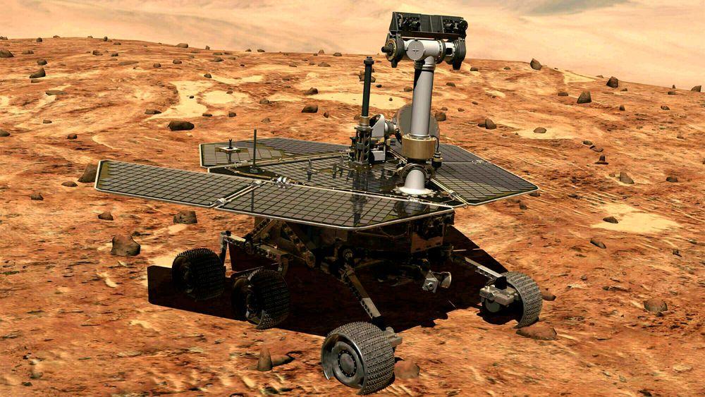 NASAs romfarkost Opportunity har siden 2004 kjørt rundt på Mars og trofast sendt bilder tilbake til NASA-hovedkvarteret. Men nå er farkosten erklært død.