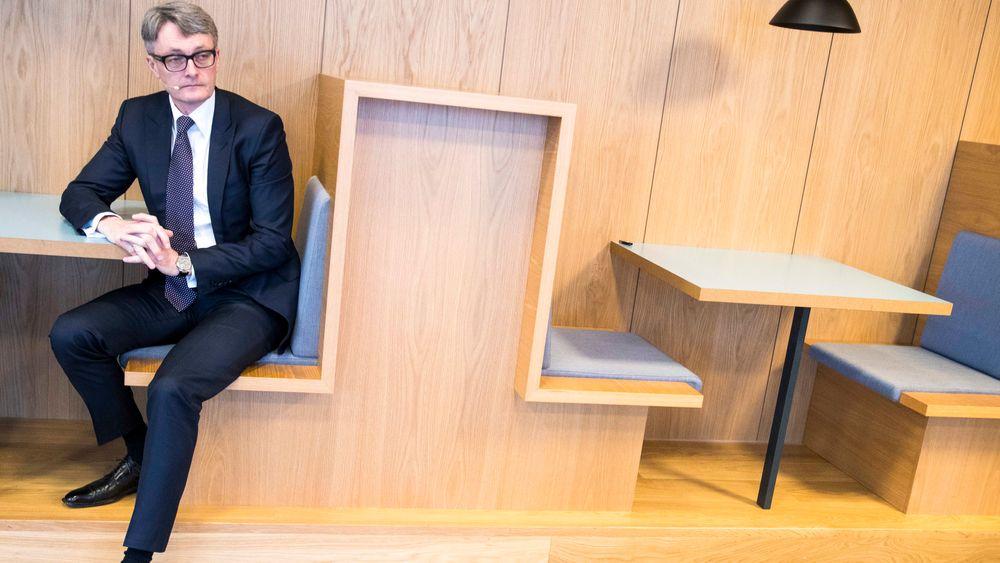 Konsernsjef Øyvind Eriksen i Aker ASA la torsdag fram selskapets resultat for fjerde kvartal 2018.